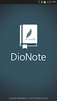 Screenshot of DioNote - Handwriting note