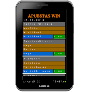 Apuestas win - screenshot