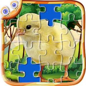 Animal Jigsaw Game Like Real