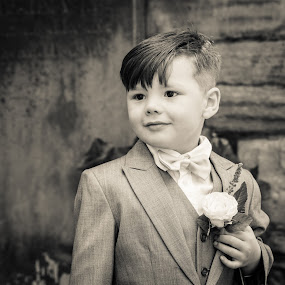 Wedding Boy by Bearded Egg - Babies & Children Children Candids ( child, wedding, children, candid, boy )