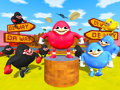 Ugandan Knuckles Battle Royale