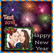 New Year 2018 Photo Frame APK for Bluestacks