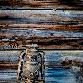 Light from the past by Ovidiu Sova - Artistic Objects Other Objects ( old, wood, vintage, lamp, light )