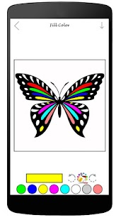 Coloring Book Of Butterfly - screenshot