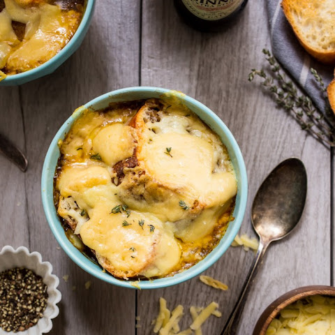 Guinness Irish Onion Soup