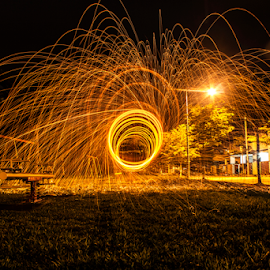 by RyAn TeOh - Abstract Fire & Fireworks