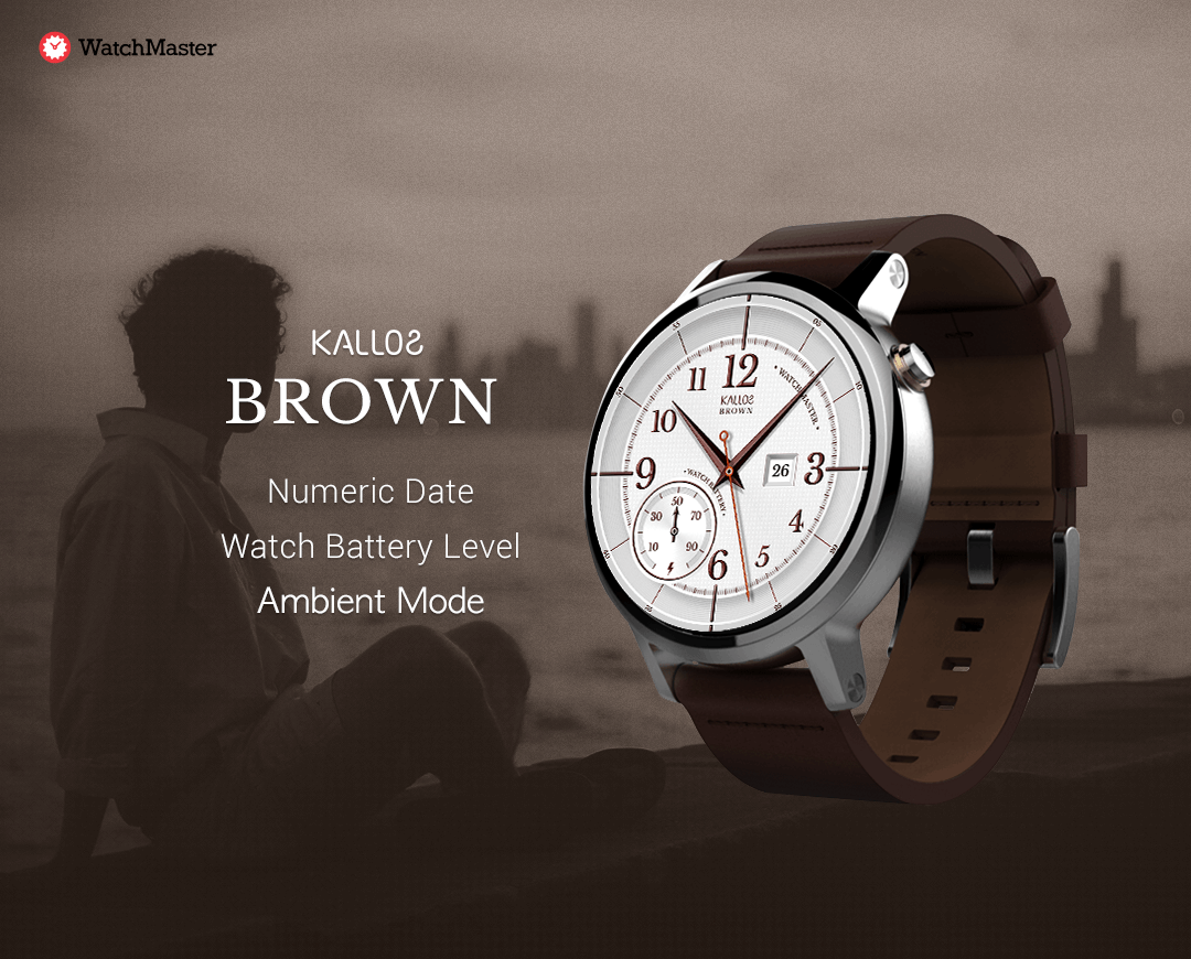 Brown watchface by kallos Screenshot 5