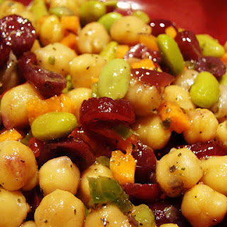 Cranberry Chickpea Salad