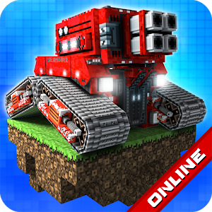 Multiplayer shooter with tanks, cars & human combats! Create and build your car! APK Icon
