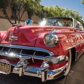 Orange Car Show by Jose Matutina - Transportation Automobiles ( car, orange, sony a7 mark 2, red, sony alpha7ii, orange county, chevrolet, sel1635z, show, sony a7m2, chevy, sony a7ii )