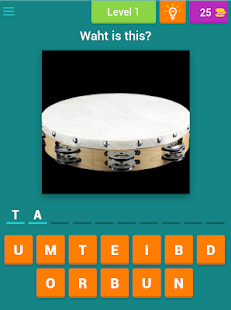 Guess Music Instruments Kids apk screenshot