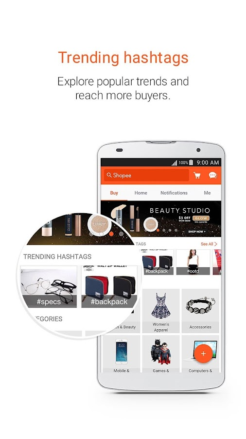 Shopee: Buy and Sell on Mobile Screenshot 1