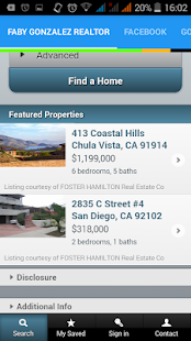 Faby Gonzalez Realtor - screenshot