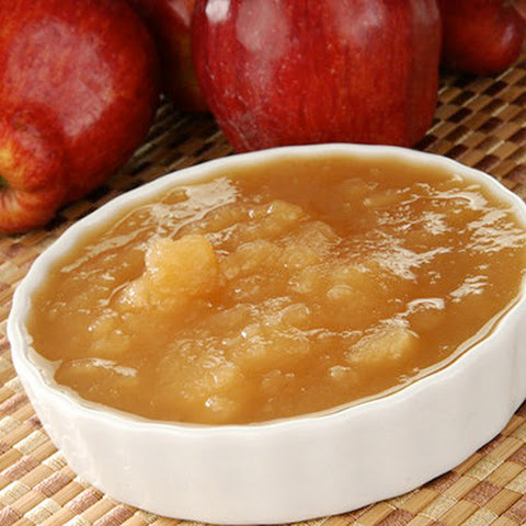 Slow Cooker Skinny Applesauce