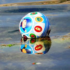 forgotten ball by Dubravka Penzić - Artistic Objects Toys