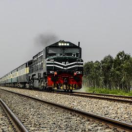 by Mohsin Raza - Transportation Trains