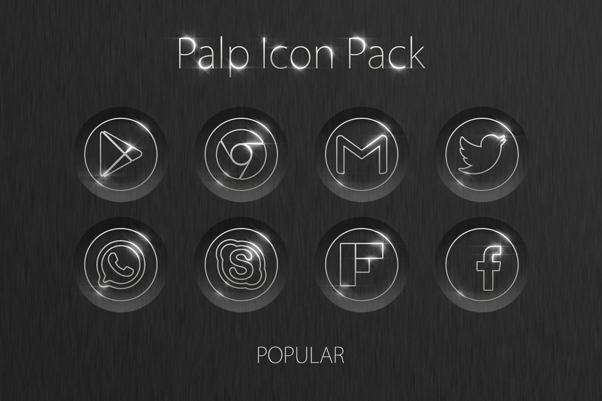 Palp Icon Pack Screenshot 1