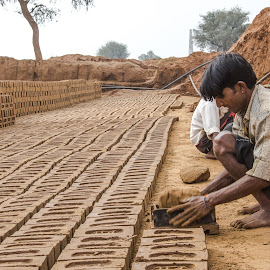bricks by Prabhat Kumar - People Professional People