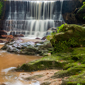 waterfall by Kelvin Zyteng - Landscapes Waterscapes ( Water, , long, exposure, daytime, edition, challenge )