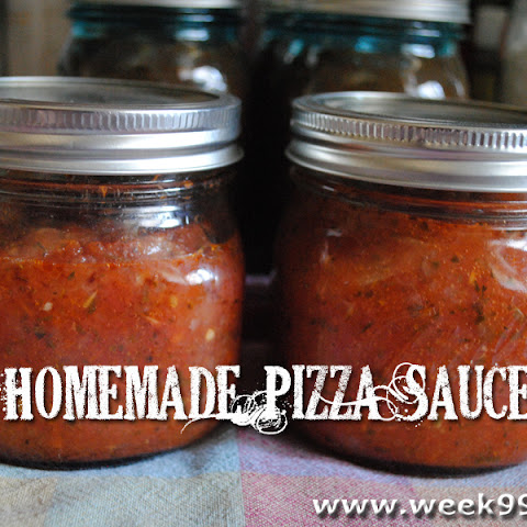 Homemade Pizza Sauce – Canning