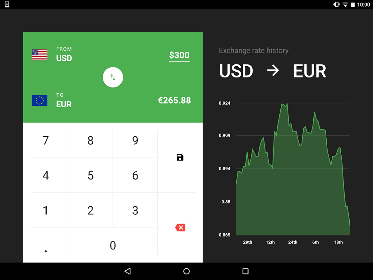 Flip Currency Converter Screenshot 4