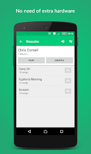 Wireless Music & Video Player Screenshot