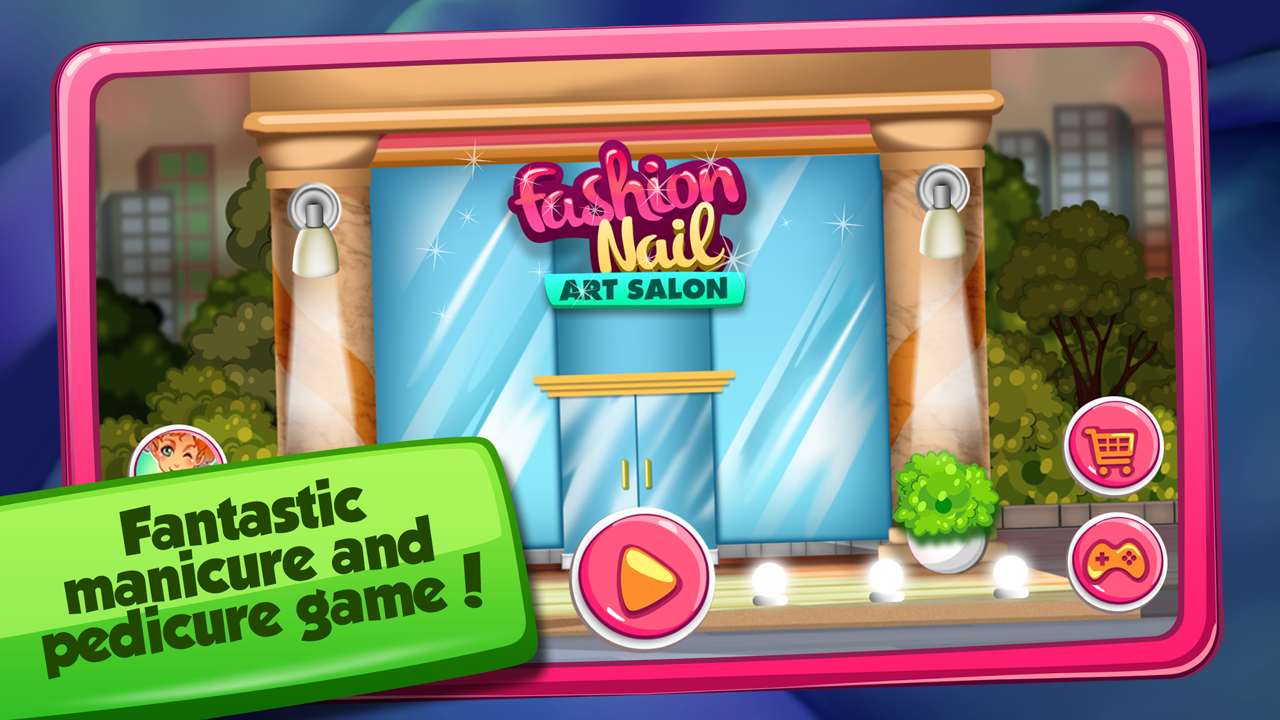 Fashion Nail Art Design Games Screenshot