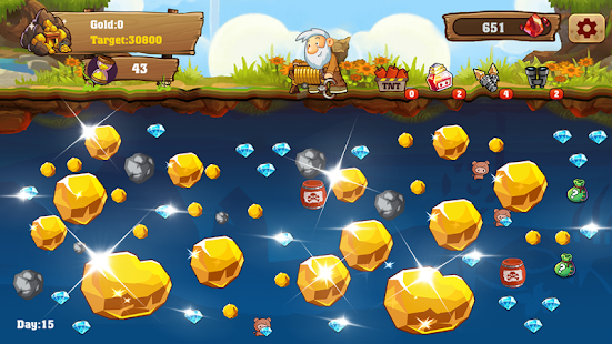 Game Gold Miner: Gold Rush APK for Windows Phone