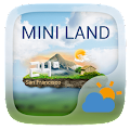 Mini Land Weather Widget Theme APK for Bluestacks