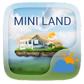 Mini Land Weather Widget Theme