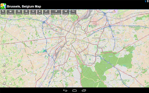 Brussels, Belgium Offline Map - screenshot