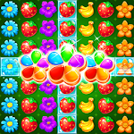 Fruits & Blossom Match Free Icon