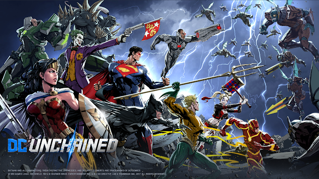 DC Unchained (Unreleased) APK screenshot thumbnail 11