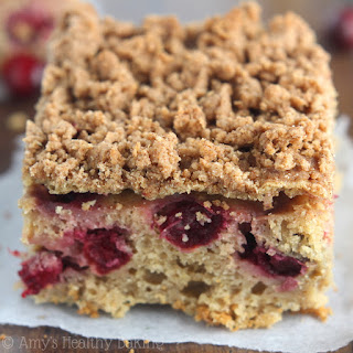Cranberry Crumb Coffee Cake
