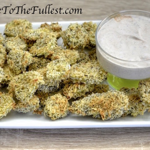 Baked Not Fried Dill Pickles
