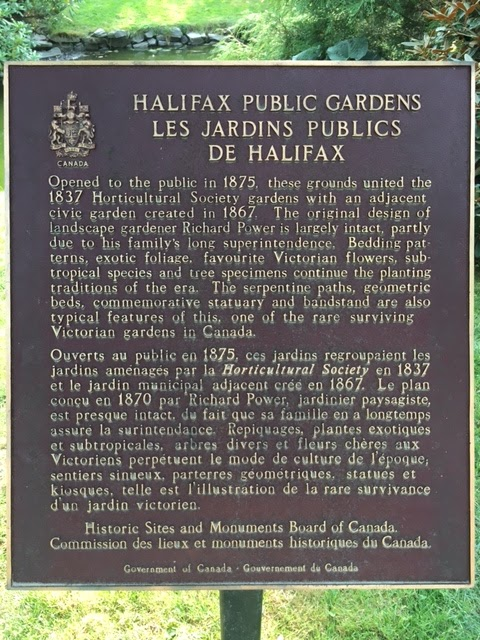 HALIFAX PUBLIC GARDENS Opened to the public in 1875, these grounds united the 1837 Horticultural Society gardens with an adjacent civic garden created in 1867. The original design of landscape ...