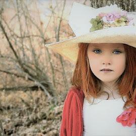Wood Walk by Cheryl Korotky - Babies & Children Child Portraits