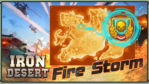 Iron Desert - Fire Storm screenshot 2