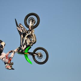Stunt by Savannah Eubanks - Sports & Fitness Motorsports ( motorcycle, dirt bike, stunt )