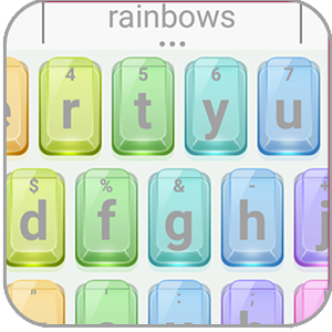Rainbow LGBT Keyboard Theme