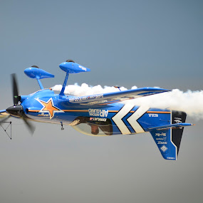 Wheels Up! by Greg Harrison - Transportation Airplanes ( john klatt, aerobatics, quad city air show, air show, extra 300 )