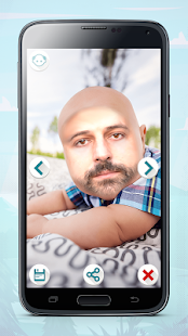 Make me Bald Photo Editor - screenshot