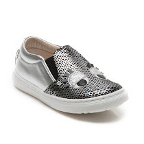Step2wo Smile - Metallic Trainer SLIP ON