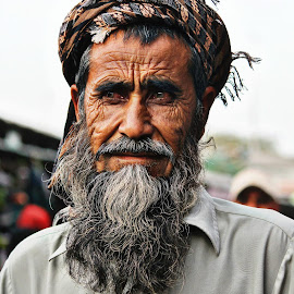by Amna Naqvi - People Portraits of Men