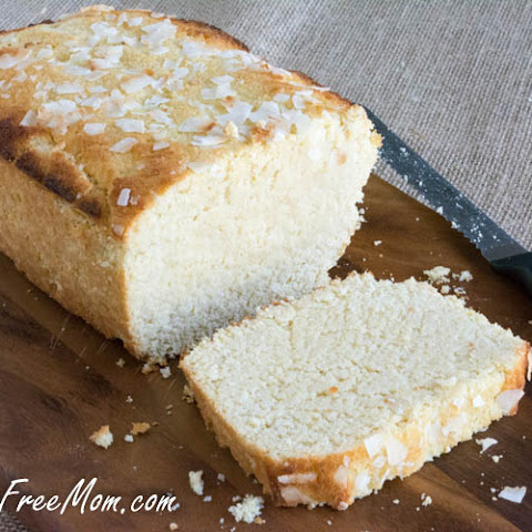 Sugar Free Lemon Coconut Pound Cake {Low Carb and Grain Free}