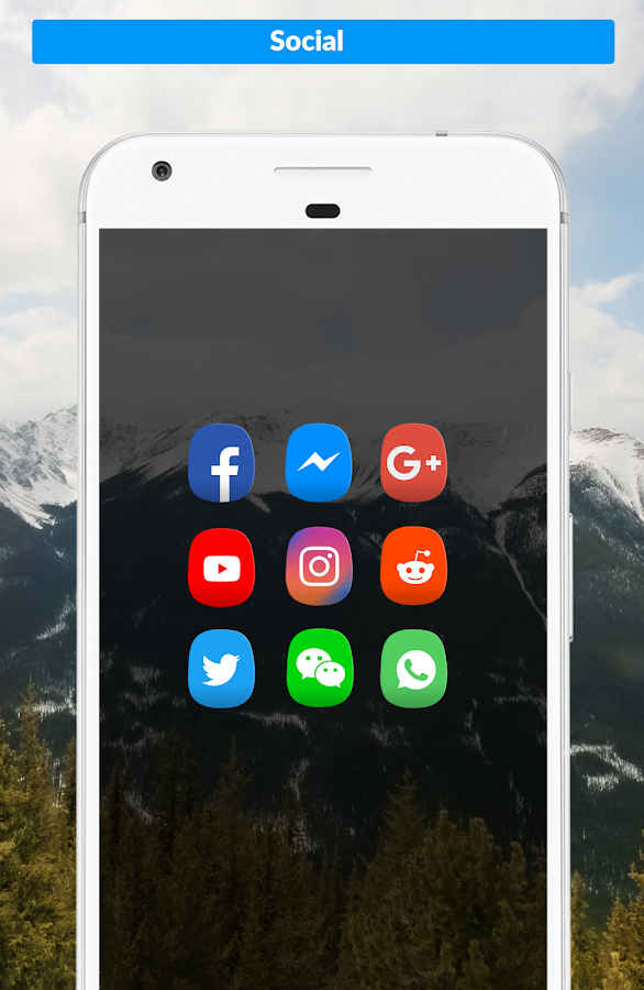 Oval Icon Pack Screenshot 1