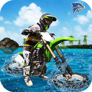 Download Beach Stunt Bike Water Surfer Racing 2017 For PC Windows and Mac
