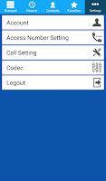 Screenshot of MobiSIP Dialer