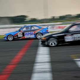Finish line by Jiri Cetkovsky - Sports & Fitness Motorsports ( carc, slovakiaring, race, finish, sport )