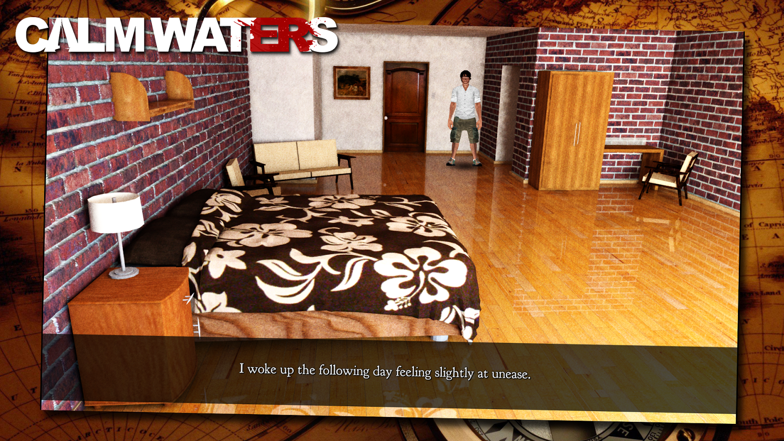 Calm Waters: A Point and Click Adventure Game Screenshot 3
